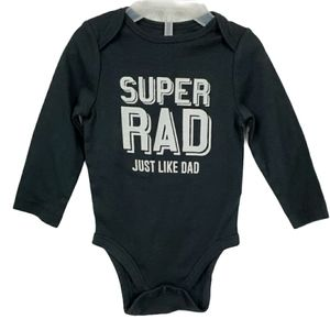 Jumping beans 12m long sleeve Super RAD one piece